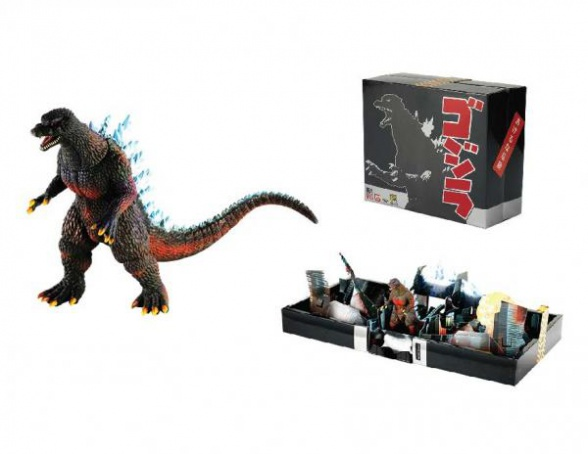 godzilla diorama exclusivo comic con 2014