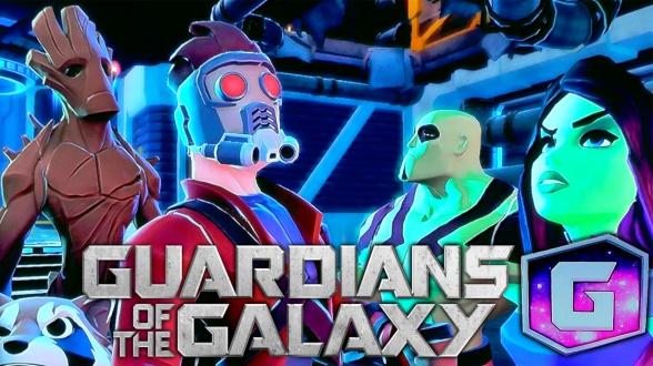 guardians disney infinity