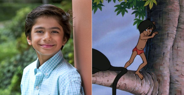 Neel Sethi Mowgli The Jungle Book