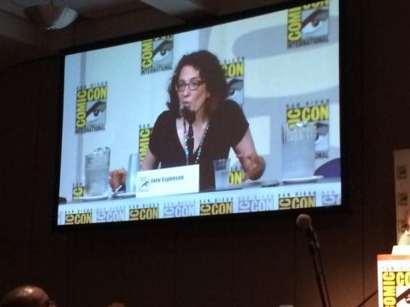 Jane Espenson Battlestar Galactica San Diego Comic-Con
