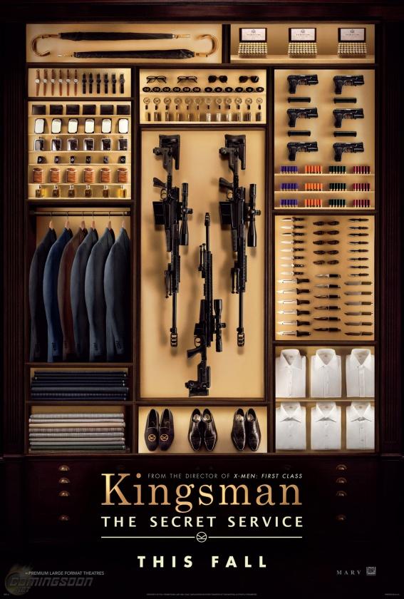 kingsman the secret service póster