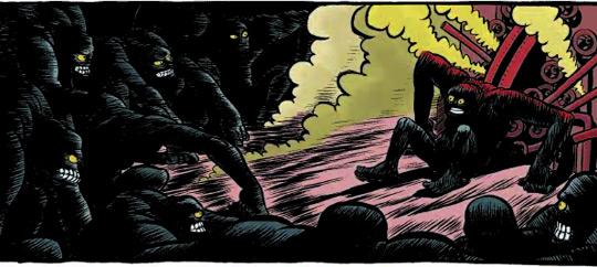 Detalle de la edición a color.