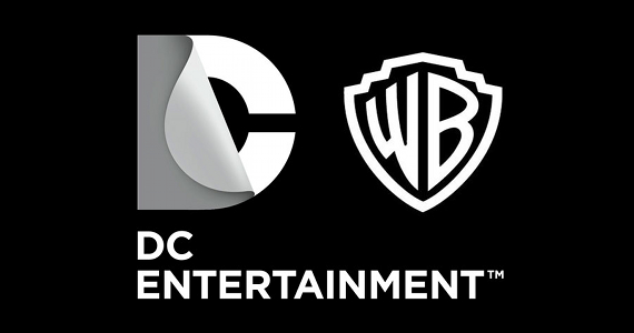 logo warner dc comic con 2014