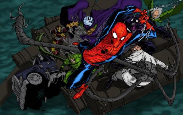 los seis siniestros spiderman