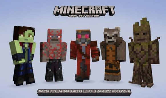 Guardianes de la Galaxia Minecraft