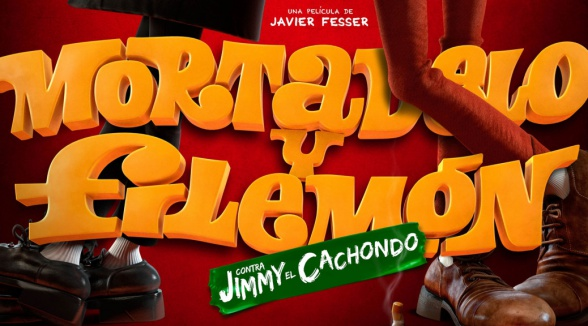 mortadelo y filemon contra jimmy el cachondo logo