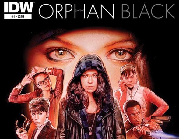 orphan black nuevo comic idw1