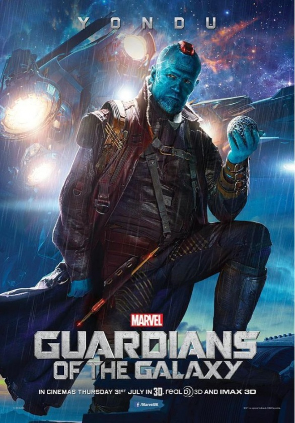 póster Yondu Guardianes de la