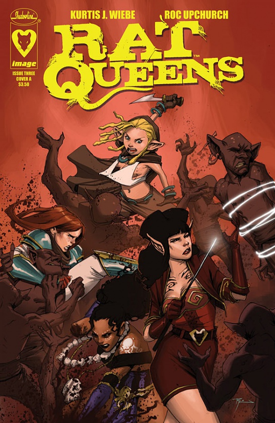 Rat Queens de Kurtis J. Wieber y Roc Upchurch