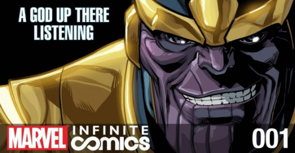 thanos a god up there listening1