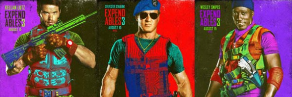 the expendables 3 posters slice