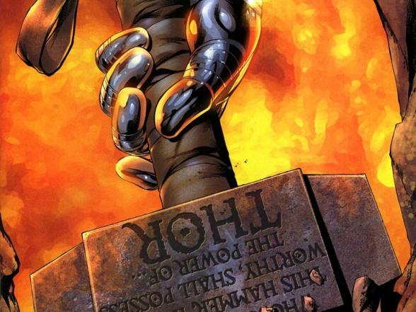 thor superheroes hammer marvel comics mjolnir