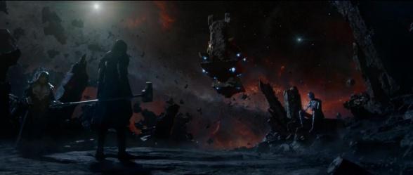 guardianes de la galaxia nebula