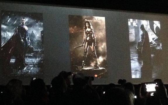 Batman V Superman  comic con 2014