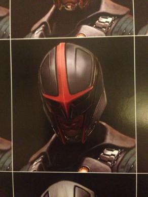 Arte conceptual no usado de Nova para 'Guardianes de la Galaxia'