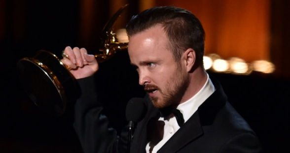 Aaron Paul Emmy 2014