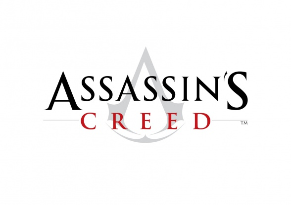 Assassins Creed logo blanco