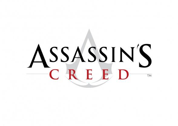Assassins Creed logo blanco