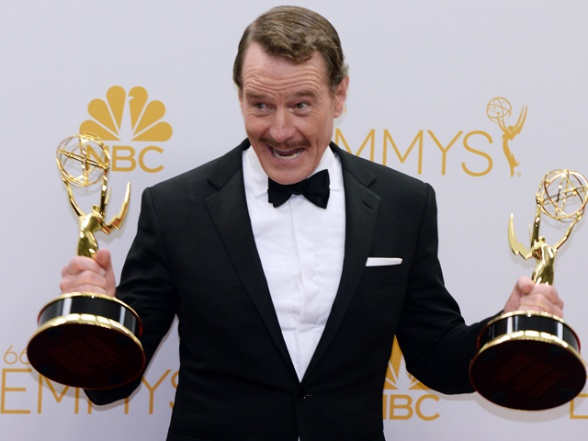 Bryan Cranston Emmy 2014