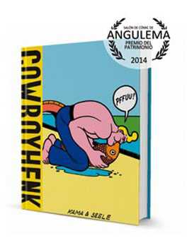 Cow Boy Henk portada edicion castellano
