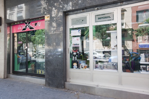 Generación X Imperial exterior tienda