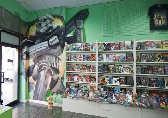 Generación X Imperial interio tienda
