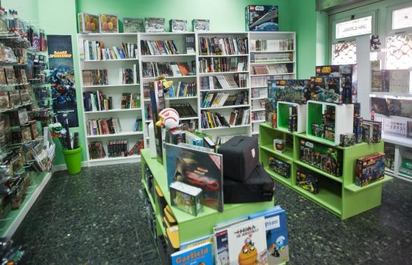 Generación X Imperial interior tienda 2