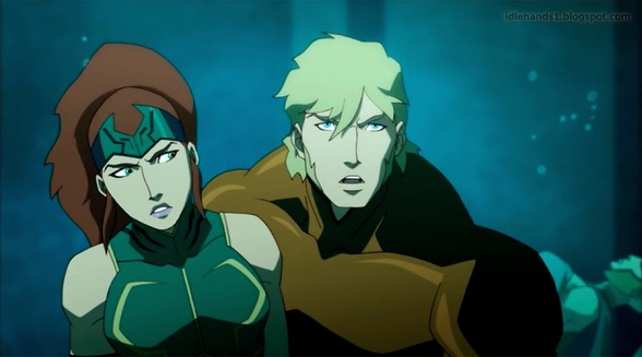 Justice League Throne of Atlantis Preview 1