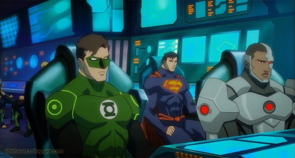 Justice League Throne of Atlantis Preview 13