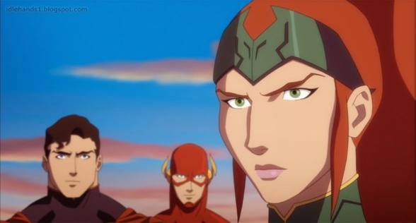 Justice League Throne of Atlantis Preview 3