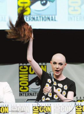 Karen Gillan Comic Con