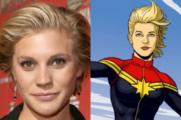 Kate Sackhoff - Capitana Marvel