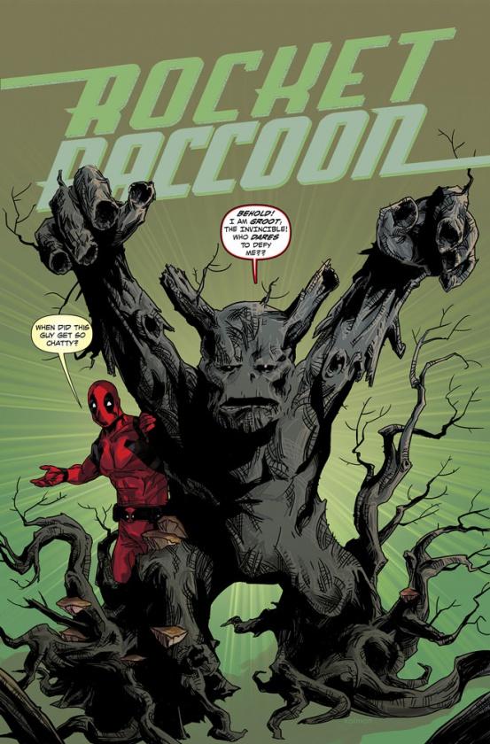 Rocket Raccoon 4 Deadpool