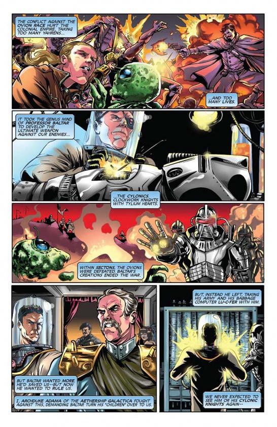 Steampunk Battlestar Galactica 1