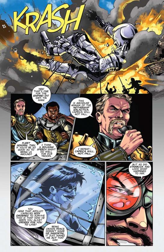 Steampunk Battlestar Galactica 4