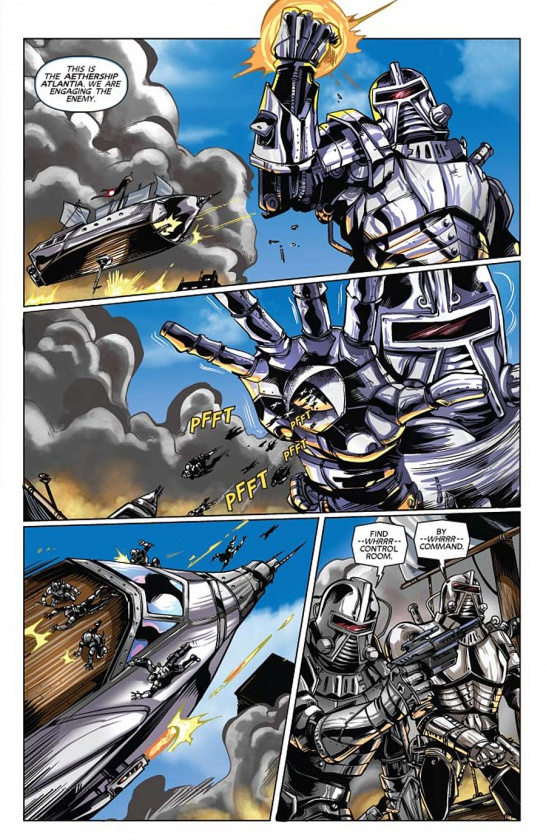 Steampunk Battlestar Galactica 5