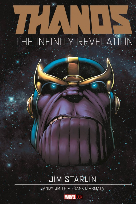 Thanos The Infinity Revelation OGN Cover 878bb