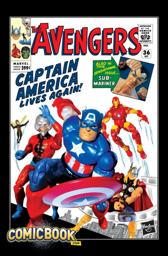 Portada Avengers Hasbro
