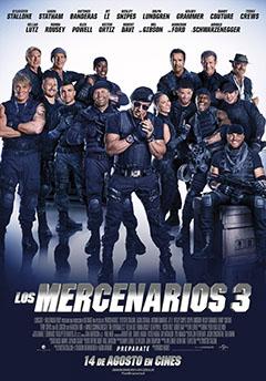 póster los mercenarios 3
