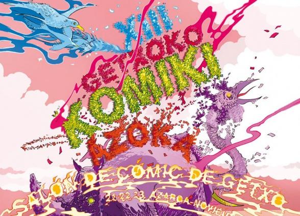 cartel salon del comic de getxo 2014 2