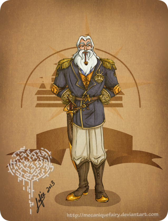 disney steampunk  king triton by mecaniquefairy