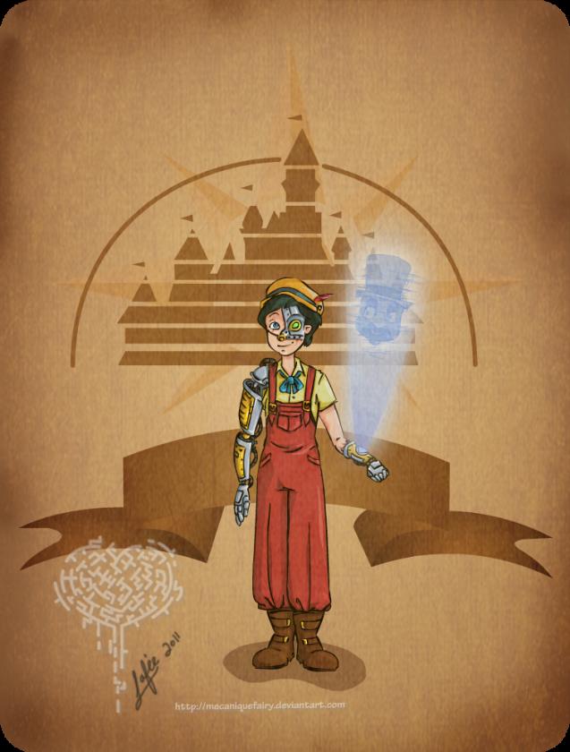 disney steampunk pinocchio by mecaniquefairy d4dy1us
