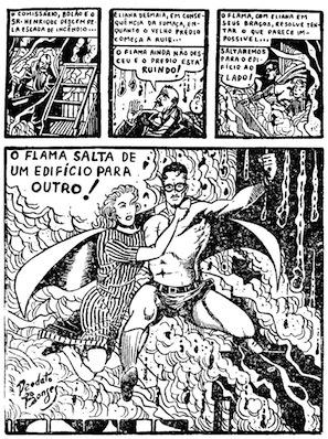 Primera página de La Llama #1