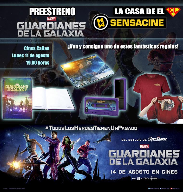 Sensacine Guardianes de la Galaxia