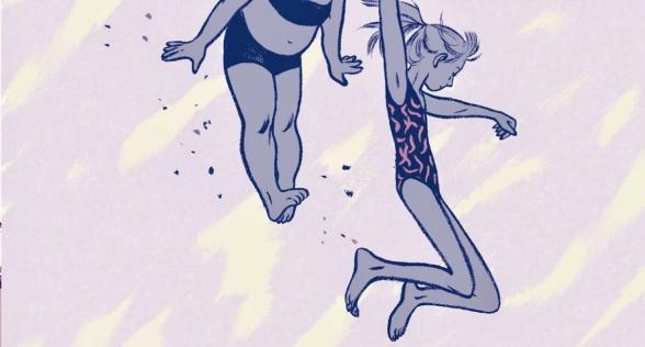 'Aquel verano', novela gráfica de Mariko Tamaki y Jillian Tamaki (autoras de 'Skim'), editada por La Cúpula, sobre el verano de las amigas Rose y Windy