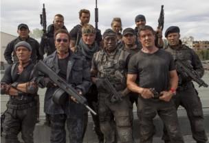 los mercenarios 3 equipo