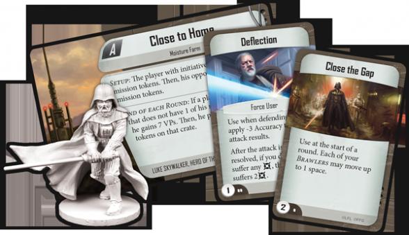 star wars imperial assault gen con 2014 juego de mesa darth vader