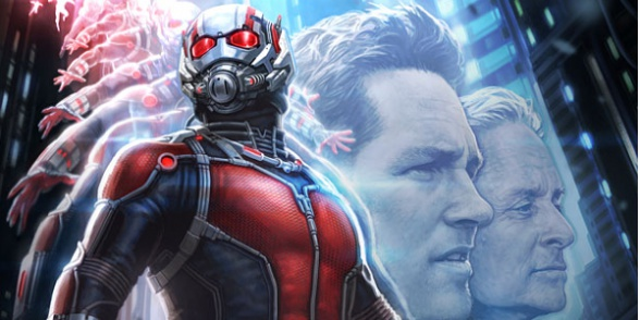 Ant-Man poster Comic Con