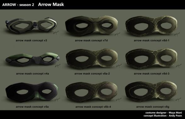 Arrow Máscara