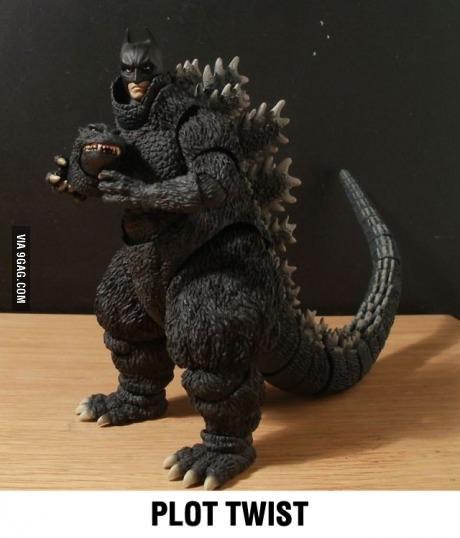 Batman Godzilla